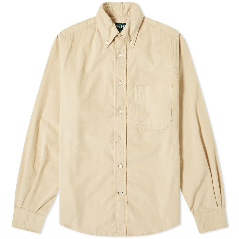 Photo: Gitman Vintage Button Down Corduroy Shirt