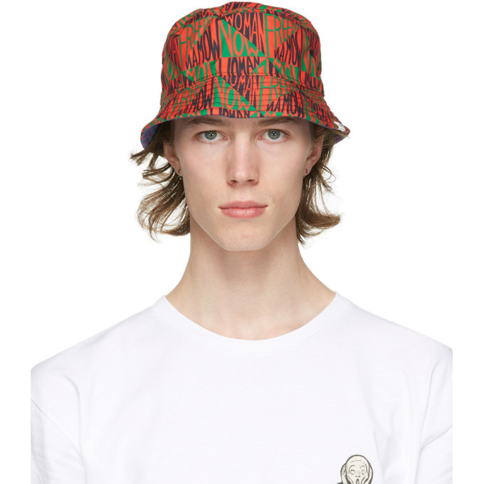Photo: Vans Reversible Mulitcolor Moma Edition Ringgold Bucket Hat