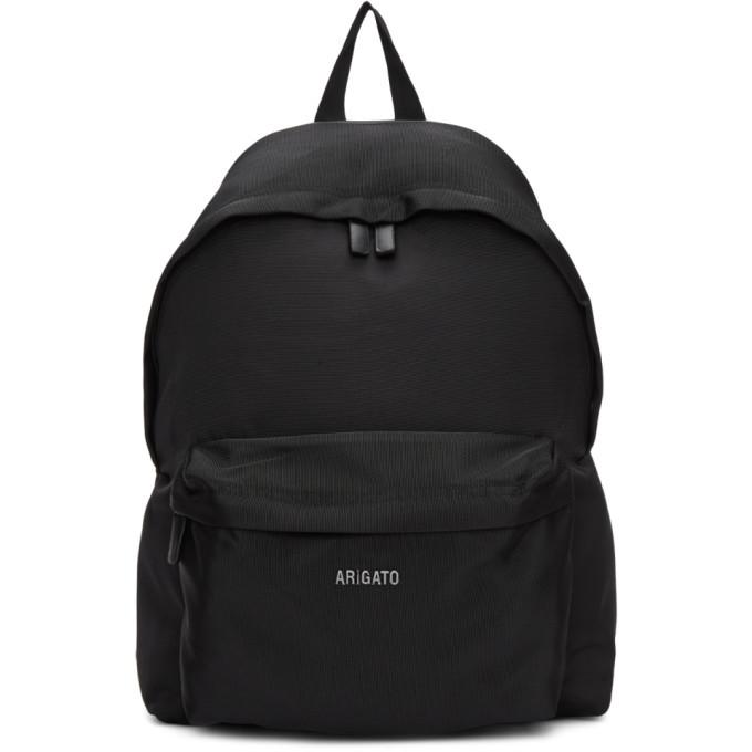 Photo: Axel Arigato Black Sterling Logo Backpack