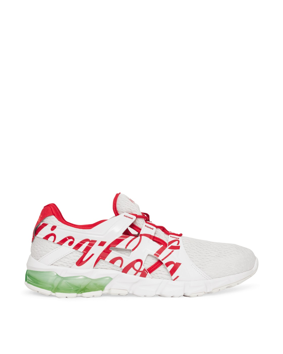 Photo: Asics Coca Cola Gel Quantum 90 Tyo Sneakers White/Coke Red