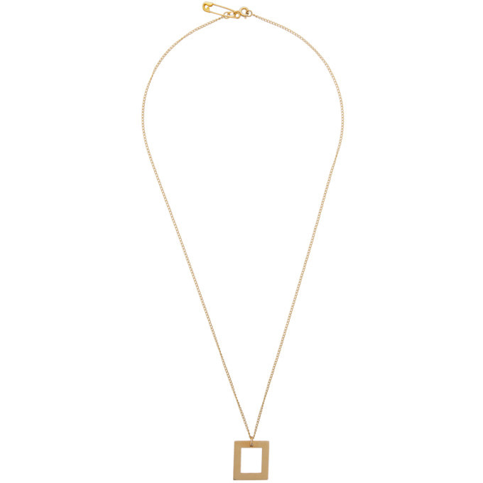 Photo: Bleue Burnham Gold The Window Pendant Necklace