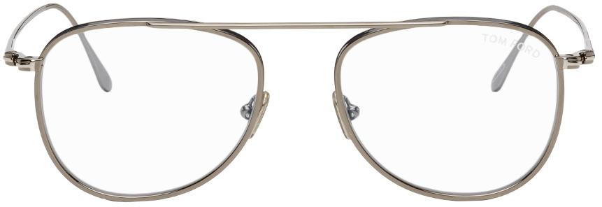 Photo: TOM FORD Blue Light Block Aviator Glasses