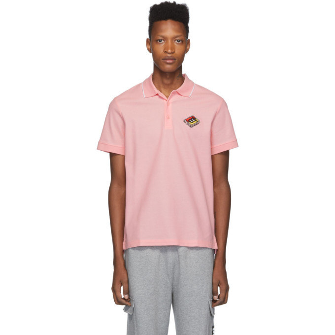 Photo: Burberry Pink Logo Aiden Polo