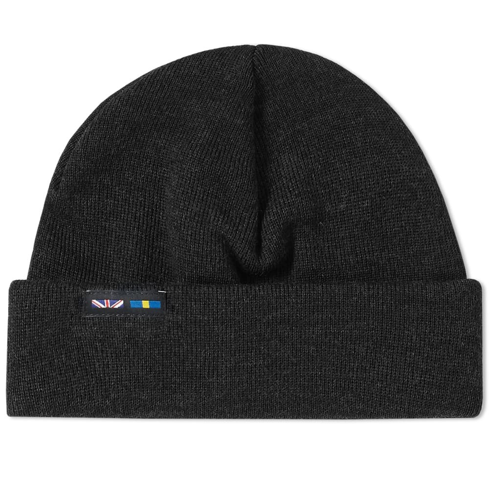 10e4c0fc5ae31 Photo  Nigel Cabourn x Peak Performance Beanie Raven Black