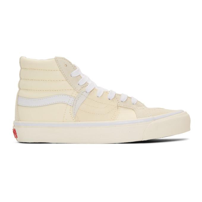Photo: Vans Off-White Sk8-Hi Bricolage Sneakers