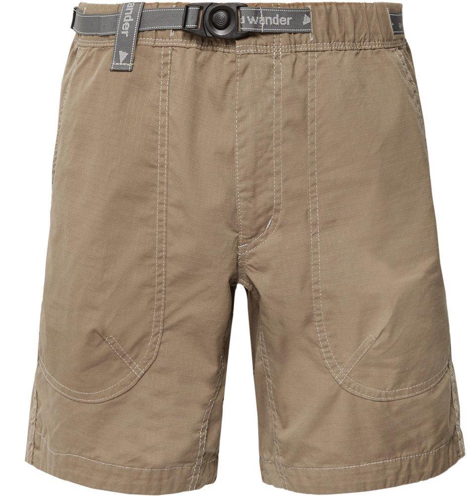 Photo: And Wander - Coolmax-Ripstop Shorts - Men - Mushroom
