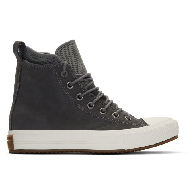 Photo: Converse Grey Chuck Taylor All Star Waterproof Boot Sneaker