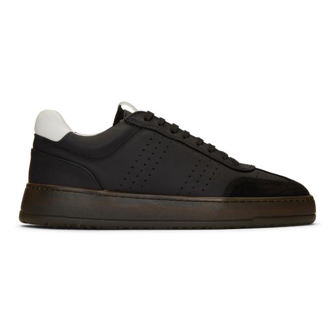 Photo: ETQ Amsterdam Black Retro LT 05 Sneakers