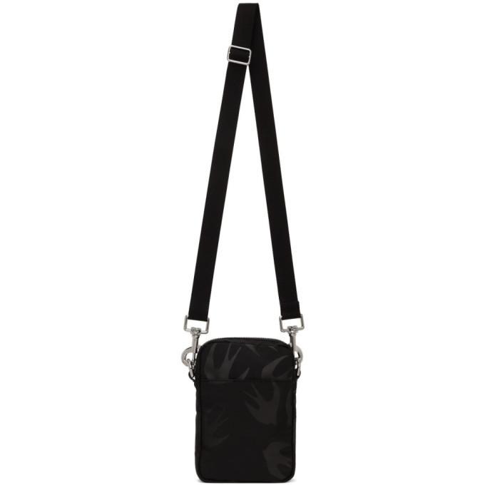 Photo: McQ Alexander McQueen Black Medium Lanyard Crossbody Bag