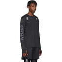 adidas Originals Black Neighborhood Edition Running T-Shirt