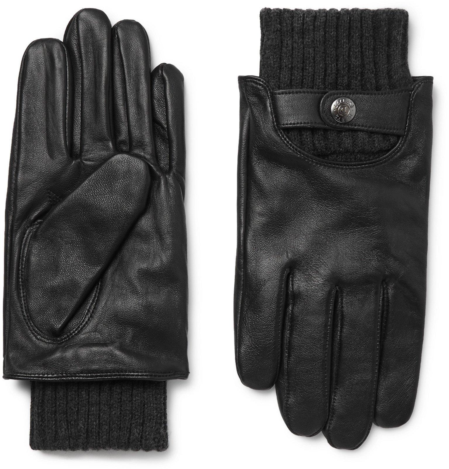 Photo: Dents - Buxton Touchscreen Leather Gloves - Black