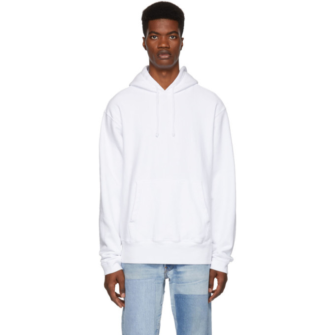Photo: paa White French Terry Hoodie