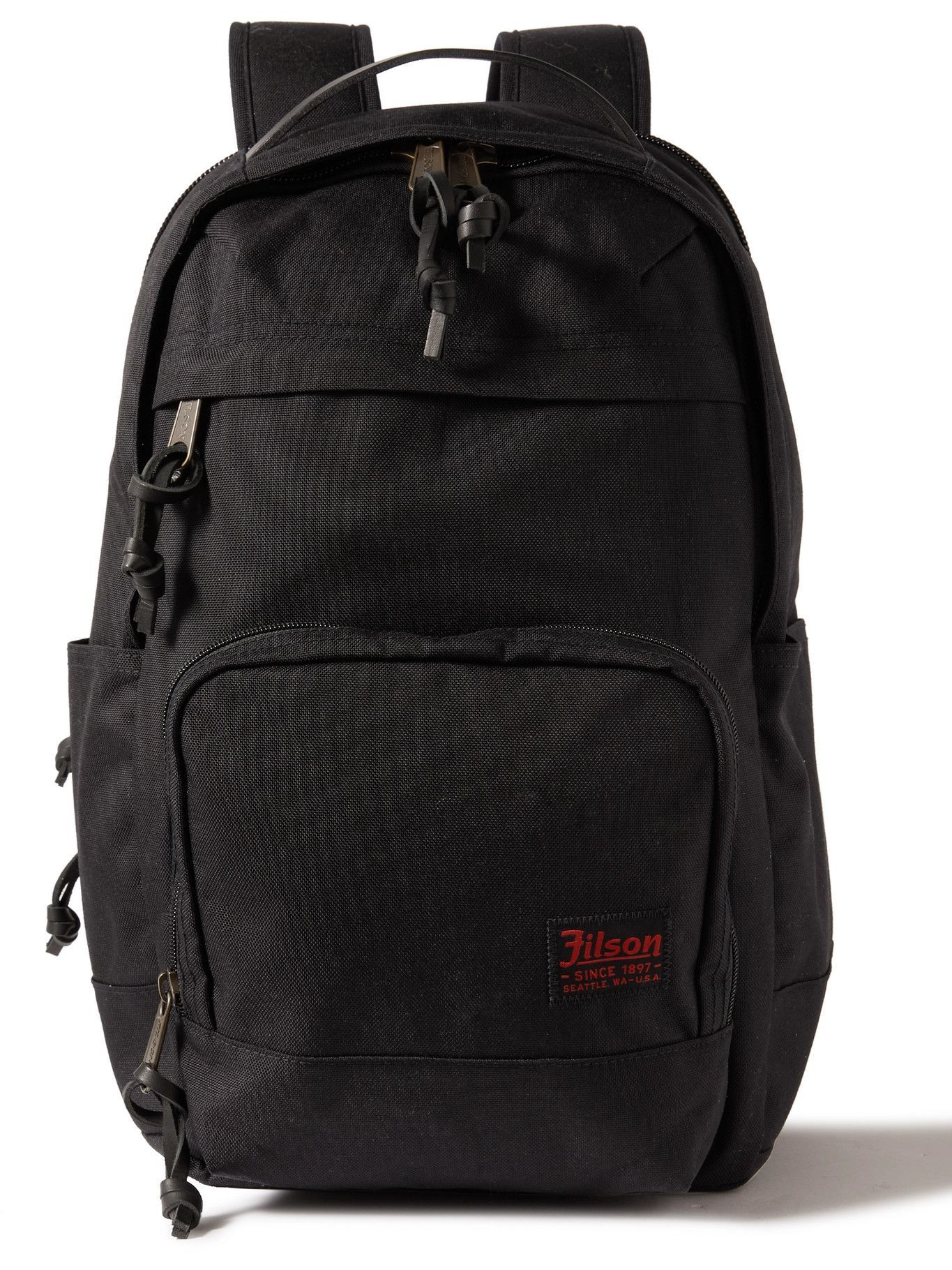 Photo: FILSON - Dryden Leather-Trimmed CORDURA Backpack