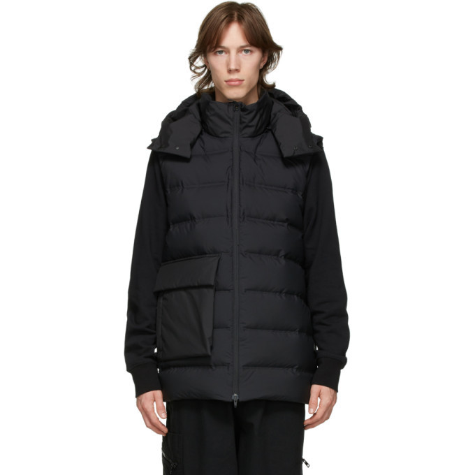 Photo: Y-3 Black Down Classic Puffy Vest