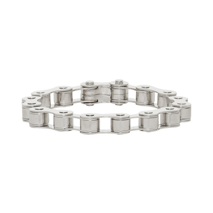 Photo: Burberry Silver Bicycle Chain Bracelet