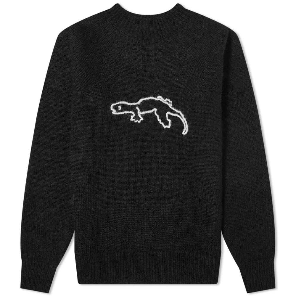 Photo: Jil Sander Gekko Embroidered Crew Knit