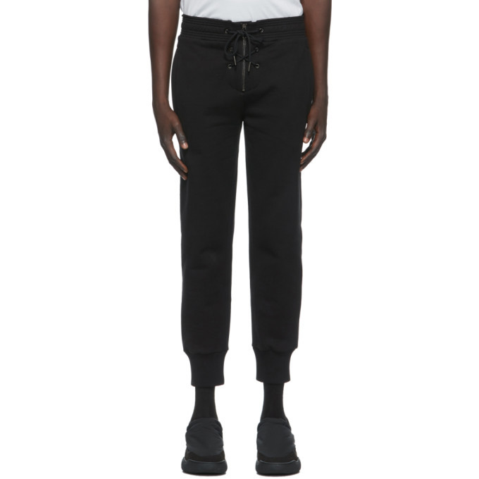 Photo: Givenchy Black Front Lace Lounge Pants