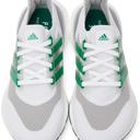 adidas Originals White & Green Ultraboost 21 Sneakers