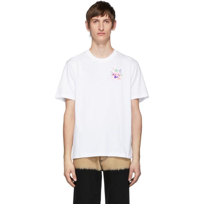 Photo: Carne Bollente White Les Cavaliers De Lapocalips T-Shirt