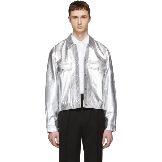 Photo: Tiger of Sweden Jeans Silver Leather Lanzon M Jacket