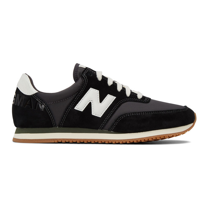 Photo: Junya Watanabe Black New Balance Edition COMP 100 Sneakers