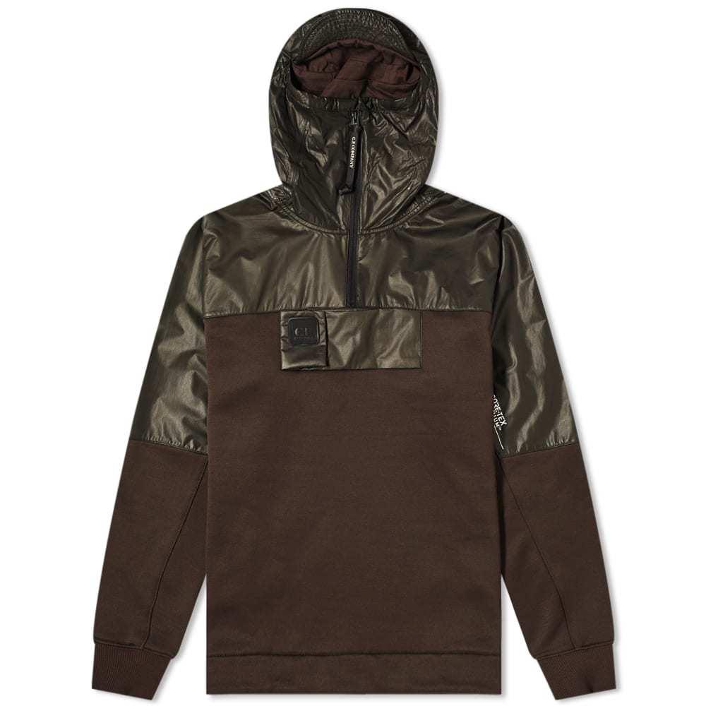 C.P. Company Goretex Half Zip Hooded Jacket