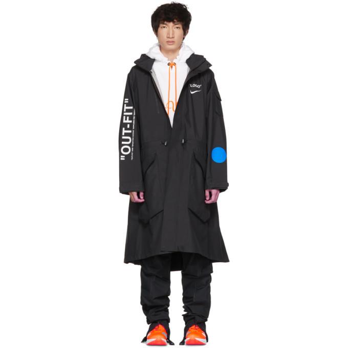 Photo: NikeLab Black Off-White Edition M NRG Carbon Jacket
