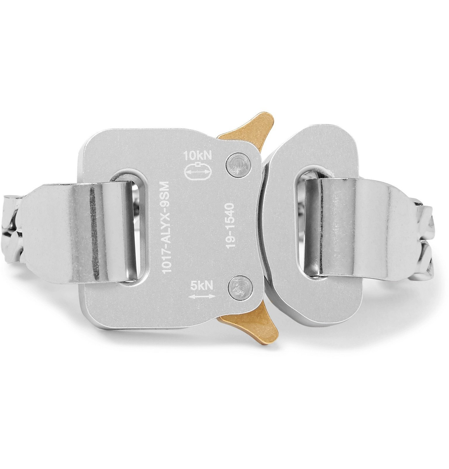 Photo: 1017 ALYX 9SM - River Silver-Tone Bracelet - Silver