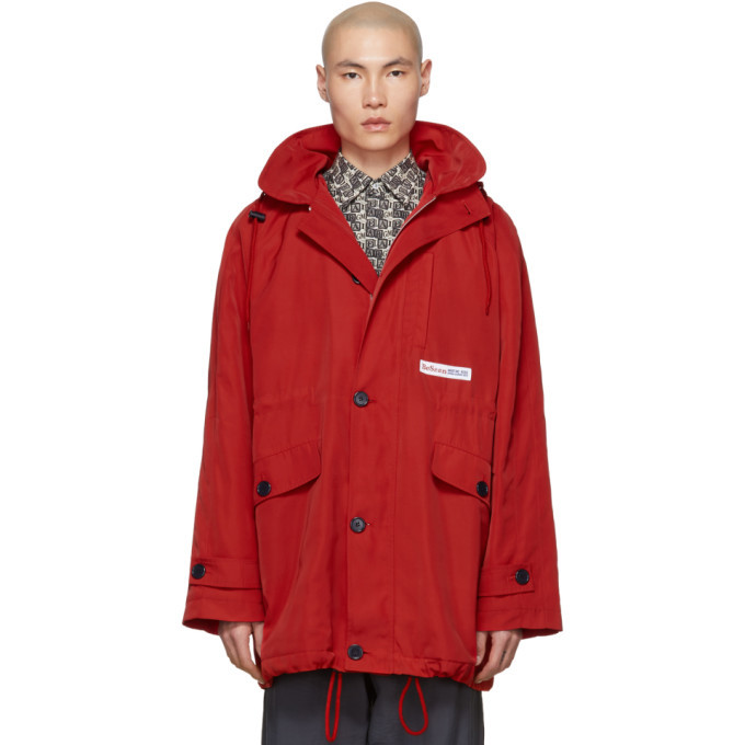 Photo: Martine Rose Red Sports Parka