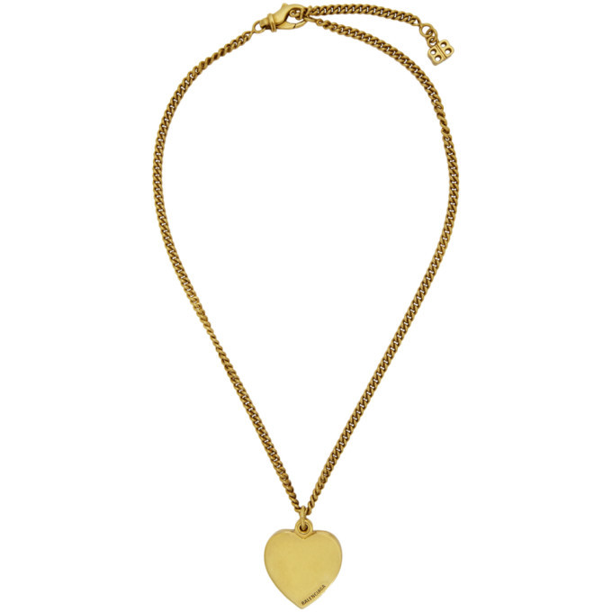 Photo: Balenciaga Gold Precious Necklace