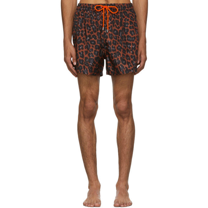 Photo: Paul Smith Red Leopard Classic Swimsuit
