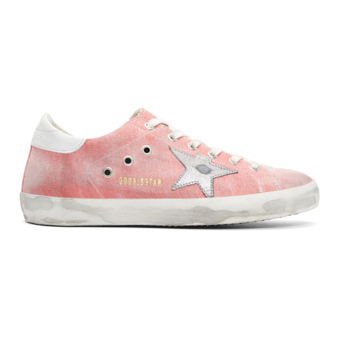 Photo: Golden Goose Red Drill Superstar Sneakers