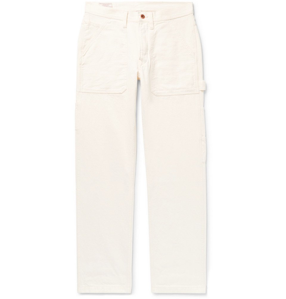 Photo: J.Crew - Wallace & Barnes Cotton-Canvas Cargo Trousers - Cream