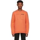 Raf Simons Orange Drugs Regular Fit Sweatshirt