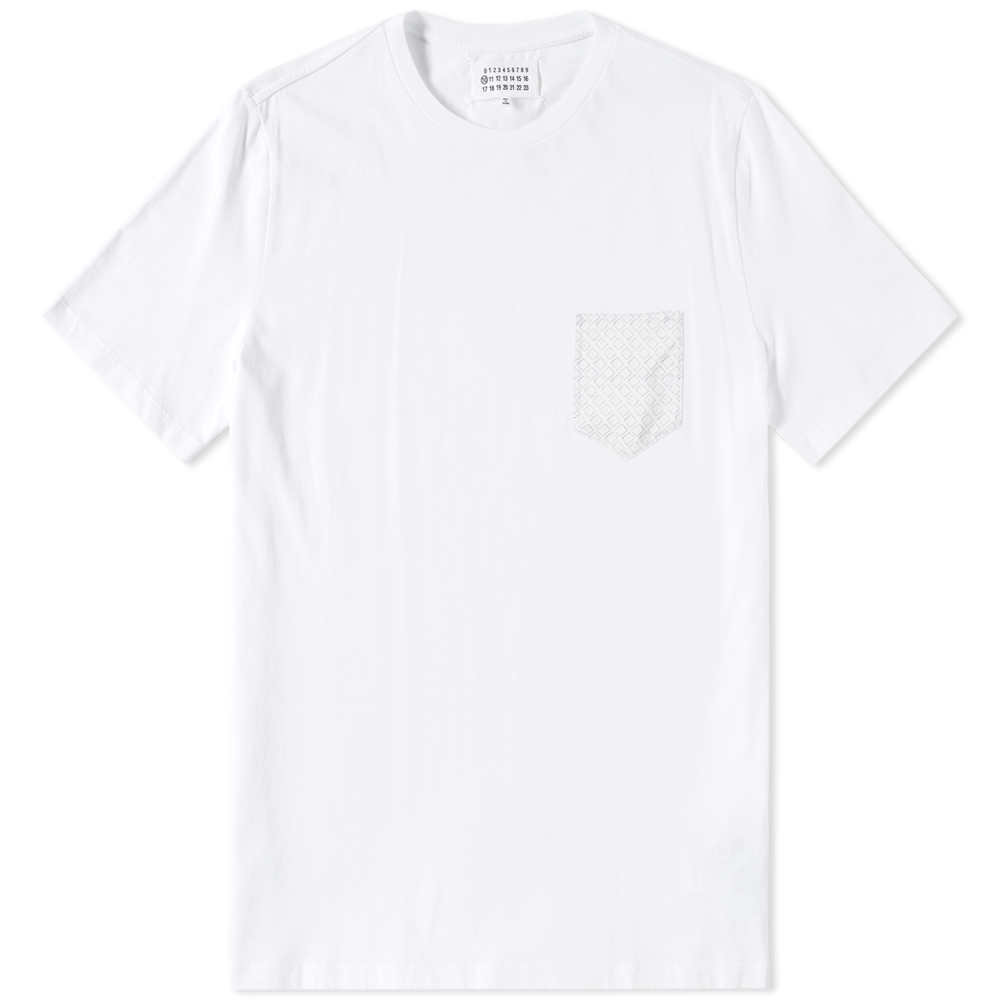Photo: Maison Margiela 10 Printed Pocket Tee