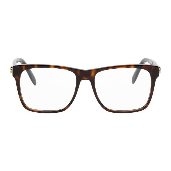 Photo: Alexander McQueen Tortoiseshell Square Glasses