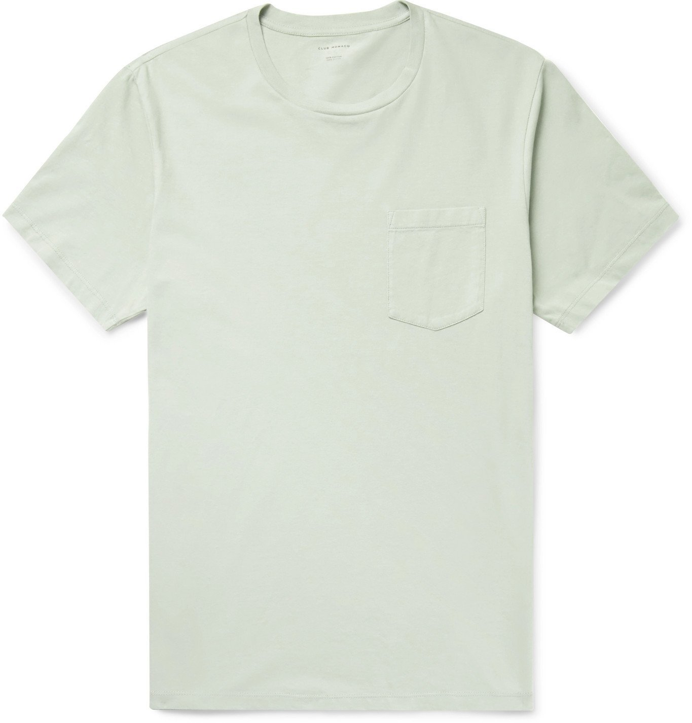 Photo: Club Monaco - Williams Cotton-Jersey T-Shirt - Green