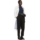 3.1 Phillip Lim Black Twill Pleated Trousers