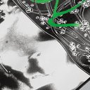 Raf Simons - Printed Loopback Cotton-Jersey Hoodie - Gray