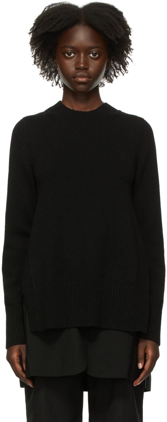 Sacai Black Suiting Mix Sweater