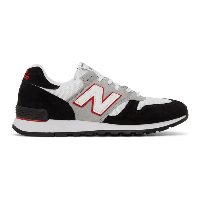 Photo: Junya Watanabe Black and White New Balance Edition 670 Sneakers