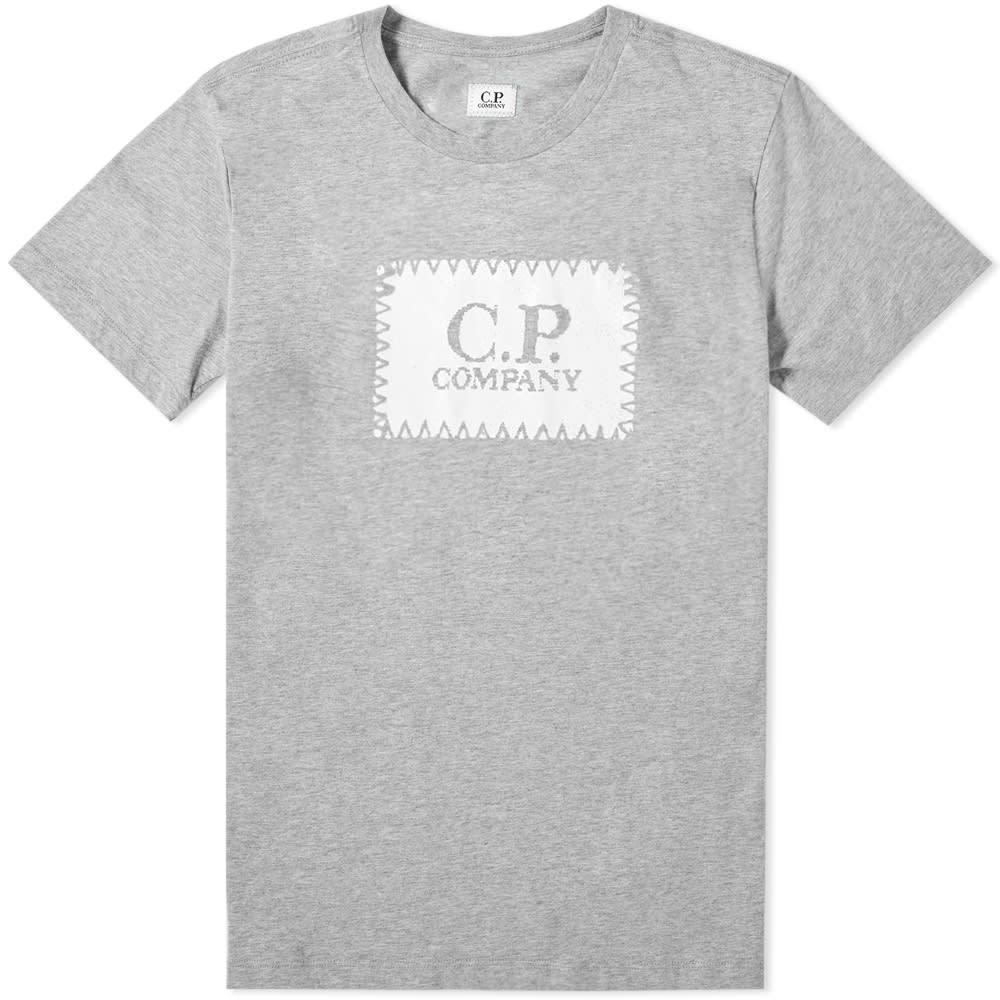 C.P. Company Jersey Block Logo Tee