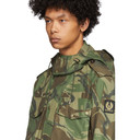 Belstaff Green Camouflage Landing Jacket