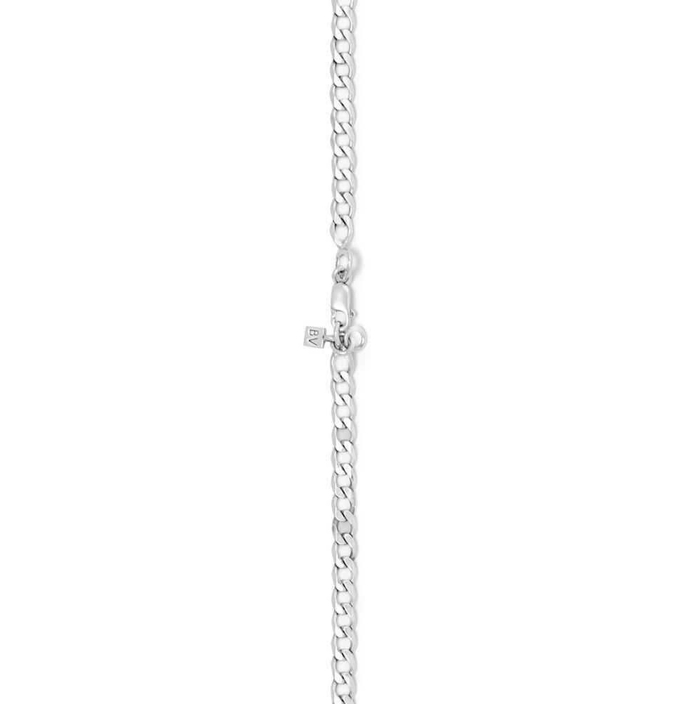 Bottega Veneta - Sterling Silver Necklace - Silver