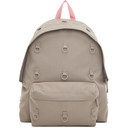 Raf Simons Grey and Pink Eastpak Edition Padded Loop Backpack