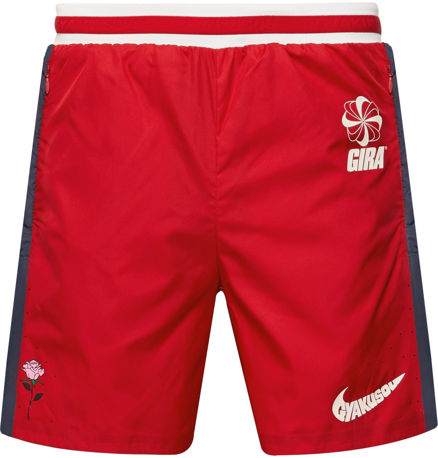 Photo: Nike x Undercover - GYAKUSOU NRG Stretch-Shell Drawstring Shorts - Red