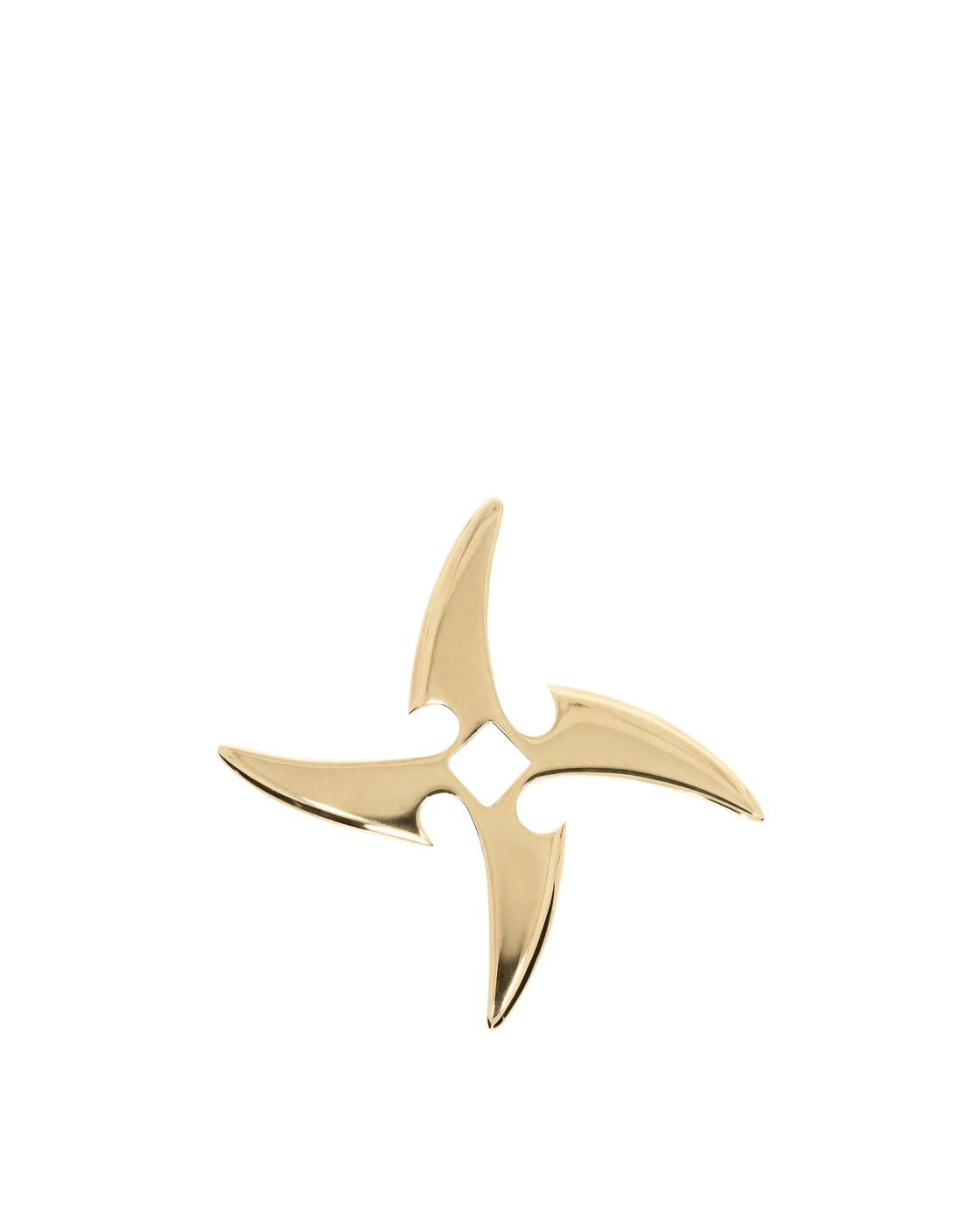 Aries Throwing Star Charm Gold