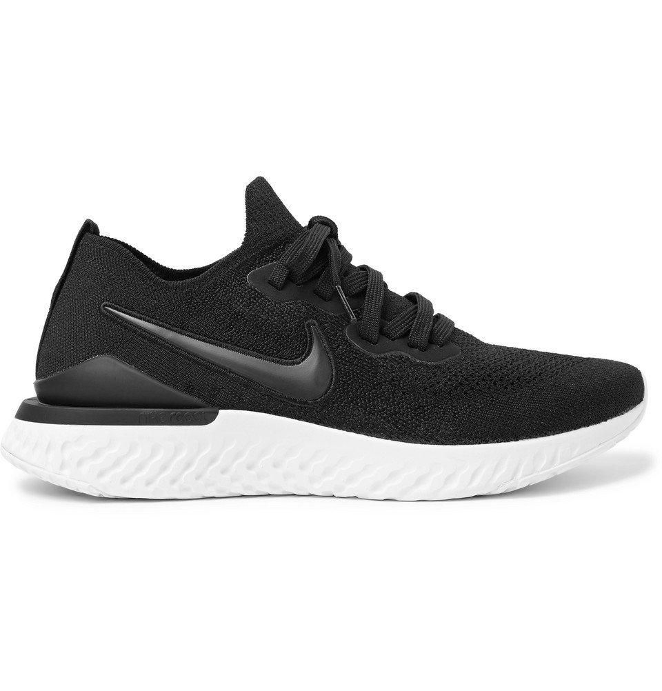 Nike Running - Epic React Flyknit 2 Running Sneakers - Men - Black