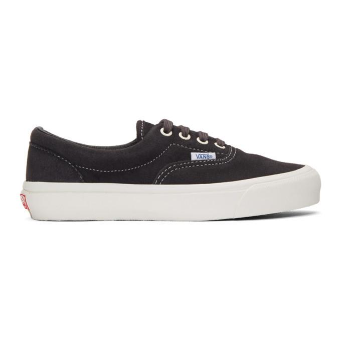 Photo: Vans Black OG Era Lx Sneakers