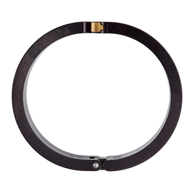 1017 ALYX 9SM Black Rollercoaster Bracelet